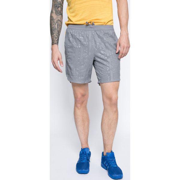 0e1ab30ce adidas Performance - Szorty - Szare krótkie spodenki sportowe marki ...