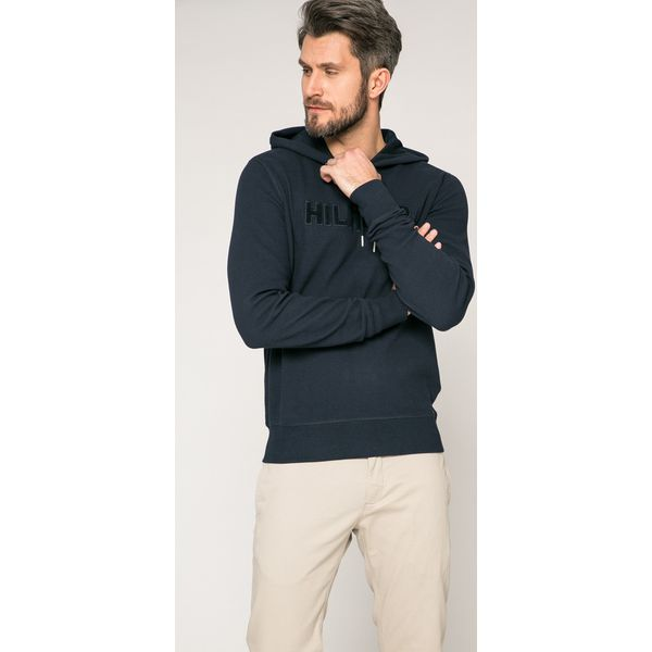 3f531053d7c8a Tommy Hilfiger - Bluza - Szare bluzy marki Tommy Hilfiger