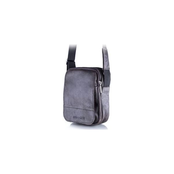 5bd6e8e9a755f Ciemno brązowa listonoszka męska torba na ramię bl04 - Brązowe torby ...