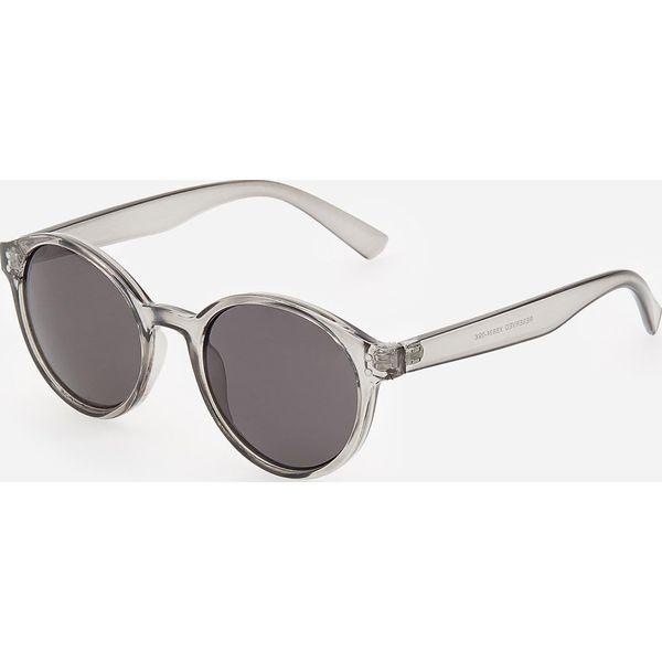 Okulary przeciwsłoneczne Jasny szary Szare okulary