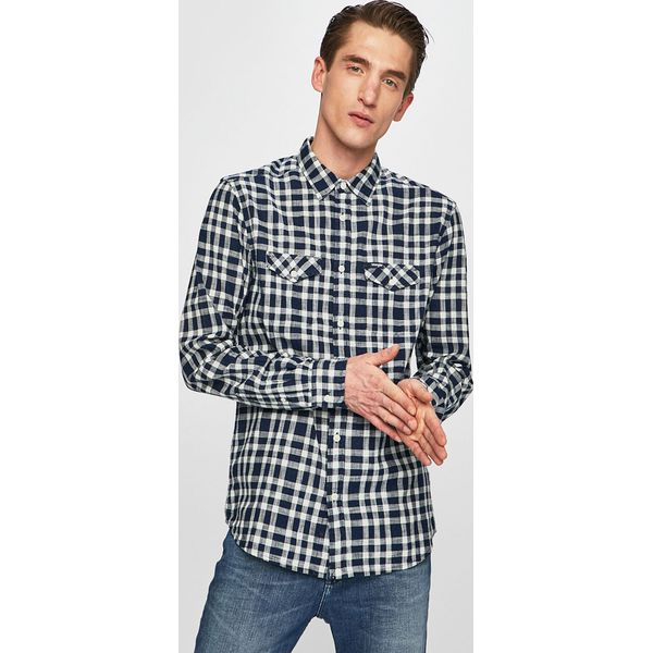 Wrangler Koszula Niebieskie koszule męskie Wrangler, m