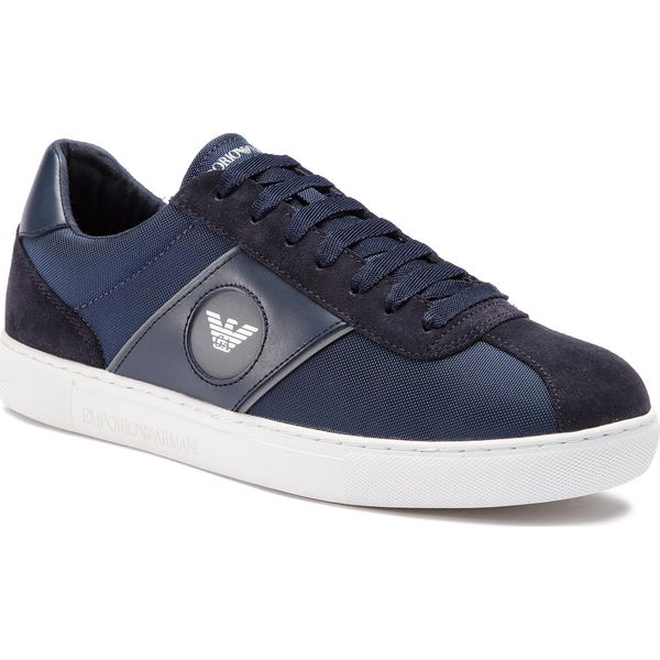 dcfe341862f82 Sneakersy EMPORIO ARMANI - X4X259 XL708 A234 Navy/Night/Night/Sil ...