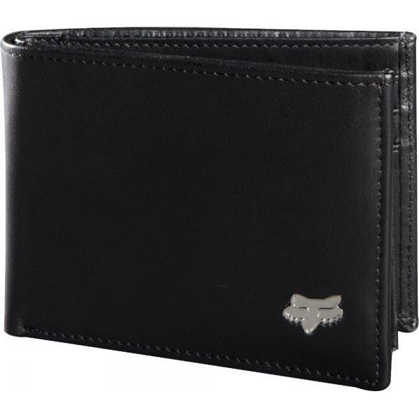 929f2e83fb1c0 FOX Portfel Męski Bifold Leather, Czarny - Portfele marki FOX. Za ...
