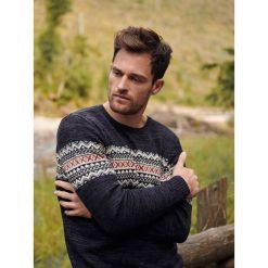 22e2034857cb SWETER MĘSKI W STYLU NORWESKIM. Swetry nierozpinane marki TOP SECRET. W  wyprzedaży za 69.99
