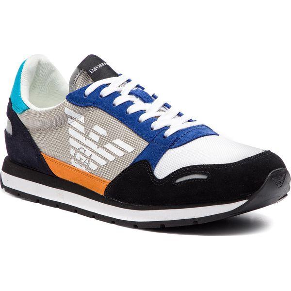 8fb33b59037e Sneakersy EMPORIO ARMANI - X4X215 XL200 A588 Black Plaster - Buty ...