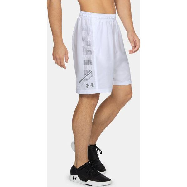 7c462d767 Under Armour Spodenki męskie Woven Graphic Short białe r. M (1309651 ...