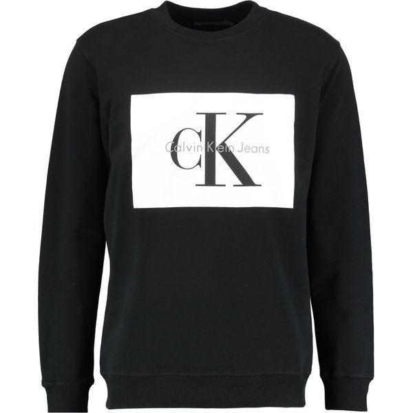 f9c1594f080b9 Calvin Klein Jeans HOTORO REGULAR FIT Bluza ck black - Bluzy marki ...