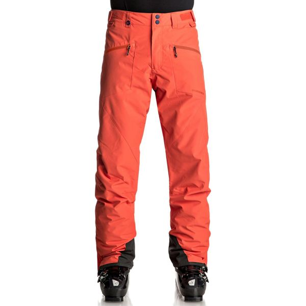 09fa89f57d612b Quiksilver BOUNDRY Spodnie narciarskie mandarin red - Spodnie ...