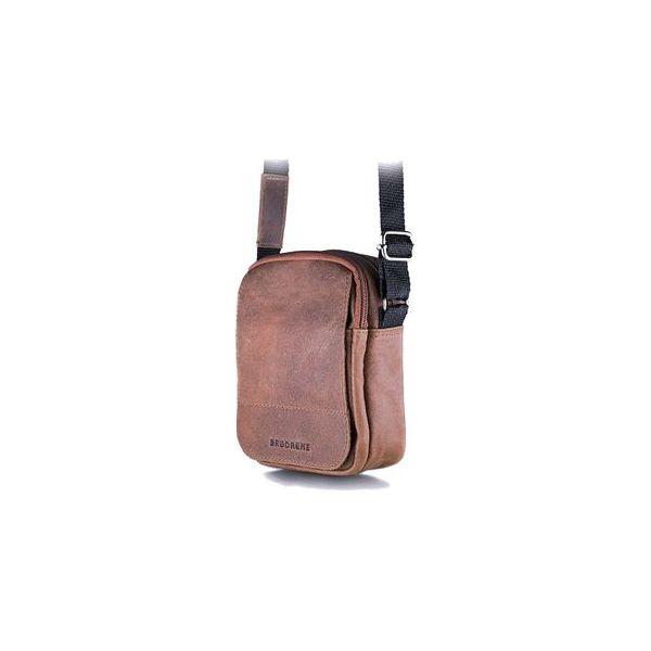 Jasno brązowa listonoszka męska torba na ramię brodrene bl04