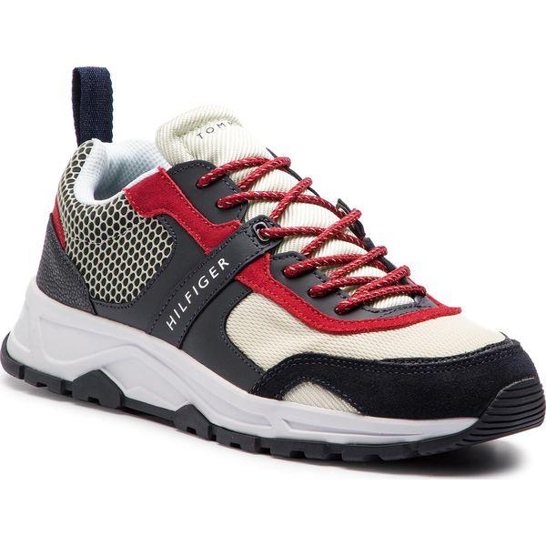 bda3b7bb82e61 Sneakersy TOMMY HILFIGER - Material Mix Lightweight Runner ...