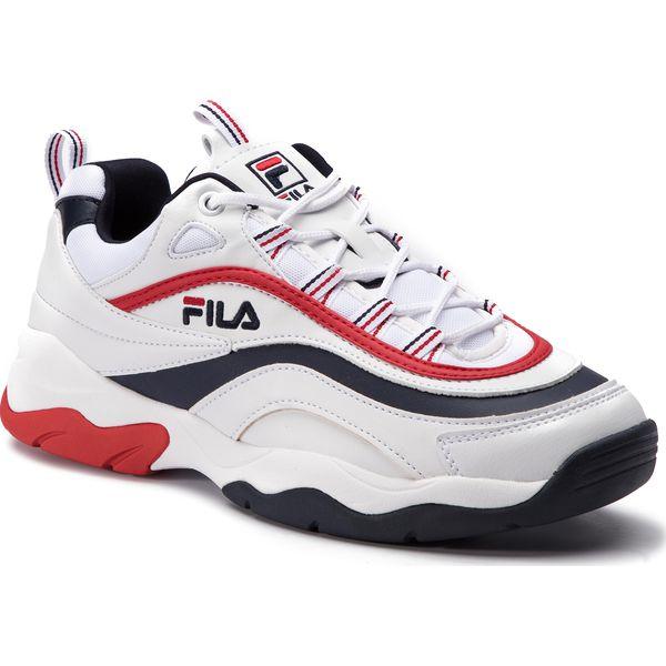 e03578ee Sneakersy FILA - Ray F Low 1010578.01M White/Fila Navy/Fila Red ...