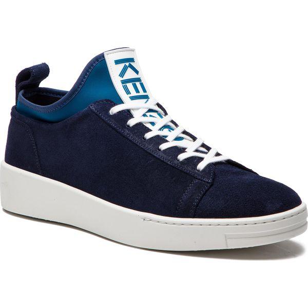8c1344031eb5a Sneakersy KENZO - F865SN136L56 Bleu Marine 76 - Buty sportowe casual ...
