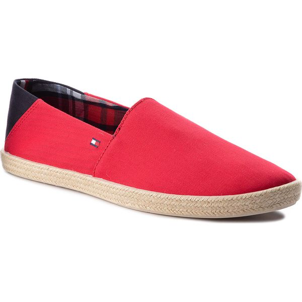 74cc6d7713cf1 Espadryle TOMMY HILFIGER - Easy Summer Slip On FM0FM00569 Tango Red ...