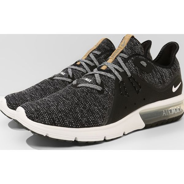 Nike Performance AIR MAX SEQUENT 3 Obuwie do biegania treningowe blackwhitedark grey