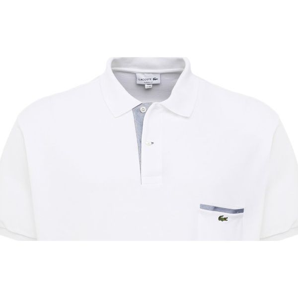 oficjalny dostawca ekskluzywne oferty niska cena Lacoste HOMME Koszulka polo white