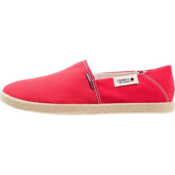4eef1811a5b44 Tommy Jeans SUMMER SLIP ON SHOE Espadryle tango red - Espadryle ...