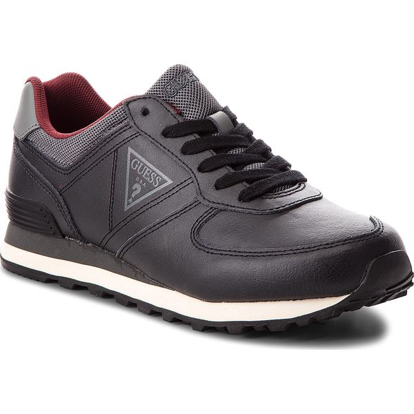 Nowoczesna architektura Sneakersy GUESS - FMCRL3 LEA12 BLACK - Buty sportowe casual marki AG22