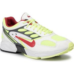 Buty NIKE Air Ghost Racer AT5410 100 WhiteAtom RedNeon Yellow