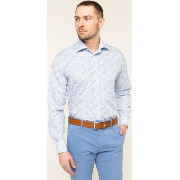 Koszula Eton 100000520 Niebieskie koszule Eton, m, bez  uff5X