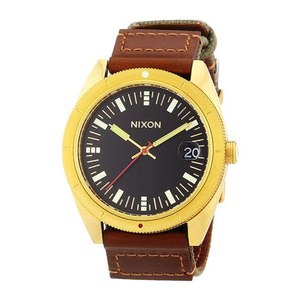 Zegarek A3551432 00 W Kolorze Brązowo Złotym Analogowe Zegarki