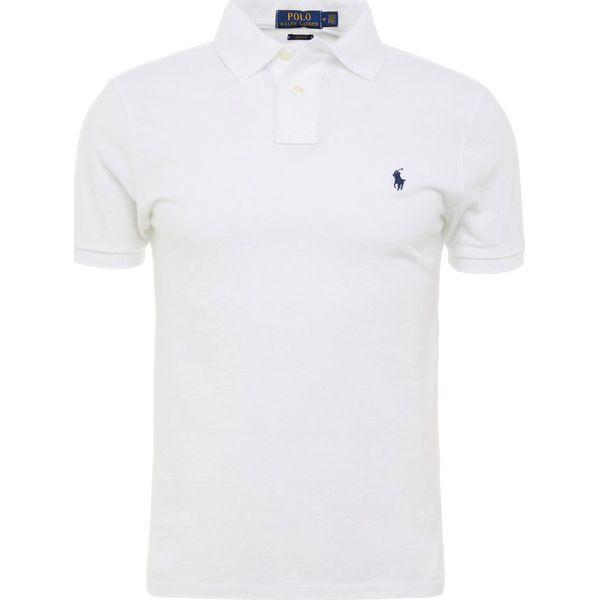 Polo Ralph Lauren SLIM FIT Koszulka polo white - Koszulki polo marki ... 71a87e6a0cc