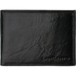 fd6919f482558 Portfel Czarny. Czarne portfele marki LANCERTO, ze skóry. W wyprzedaży za  149.90 zł