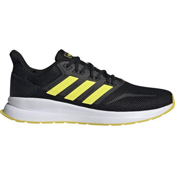Adidas buty do biegania męskie RunfalconCblackShoyelFtwwht 47,3