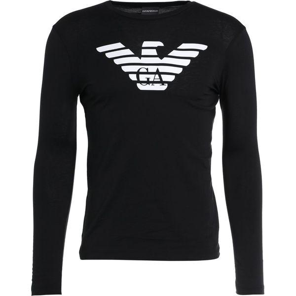 486e72ff81642b Emporio Armani Bluzka z długim rękawem black - Bluzki z długim ...