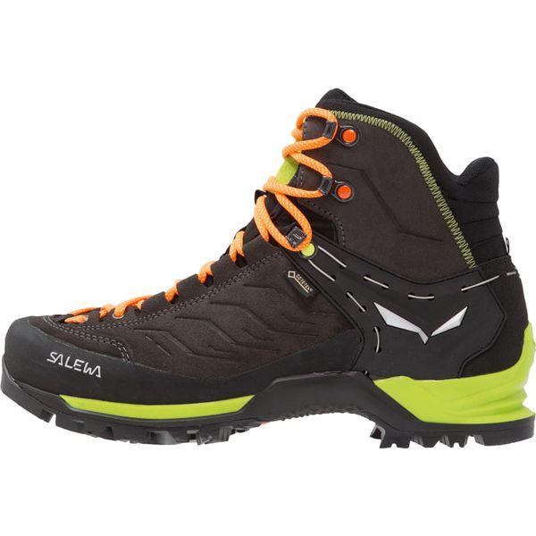 d61159ec93b82 Salewa MTN TRAINER GTX Buty trekkingowe black/sulphur spring - Buty ...