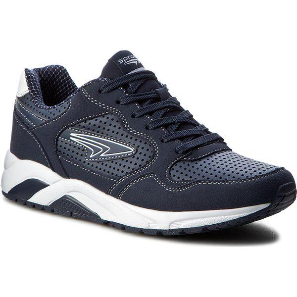 ff3fb233518e9 Sneakersy SPRANDI - MP07-15756-04 Granatowy - Buty sportowe casual ...