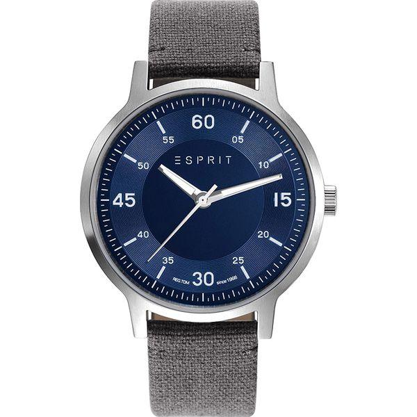 af0517daec077 Zegarek kwarcowy w kolorze szaro-srebrno-niebieskim - Analogowe ...