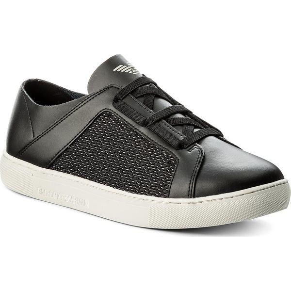 e31ceb00ffed Sneakersy EMPORIO ARMANI - X4C472 XL205 A013 Black Multicolor ...