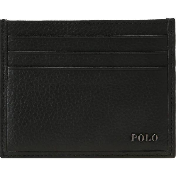 f0cedd27914a5 Polo Ralph Lauren METAL POLO Portfel black - Portfele marki Polo ...