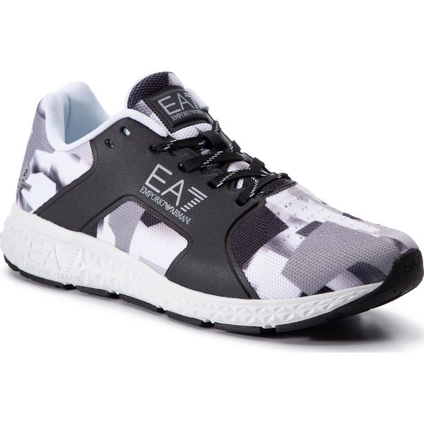 efb158ccf71cb Sneakersy EA7 EMPORIO ARMANI - X8X011 XK077 B423 Black/Grey Voilet Gr - Buty  sportowe casual marki EA7 Emporio Armani. Za 769.00 zł.