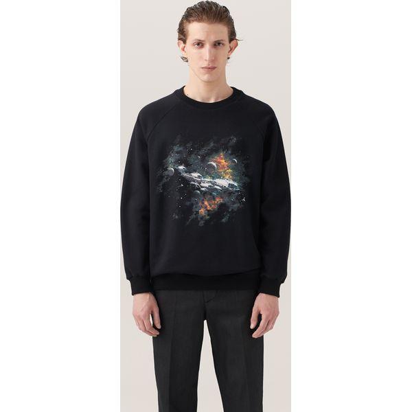 d1ae2e7de155d Bluza z nadrukiem re.design - Czarny - Bluzy marki Reserved