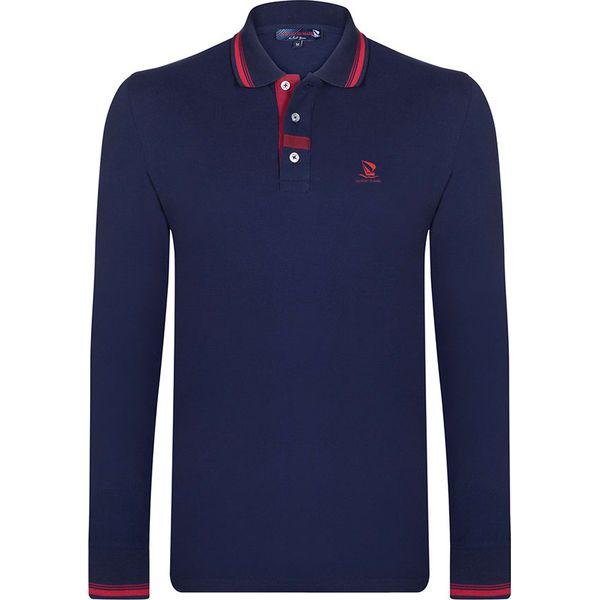 db50cceac Koszulka polo w kolorze granatowym - Koszulki polo Giorgio Di Mare ...