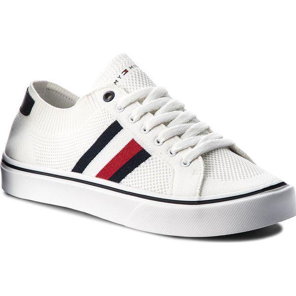 8046cfbe48686 Tenisówki TOMMY HILFIGER - Lightweight Corporate Sneaker FM0FM01619 ...