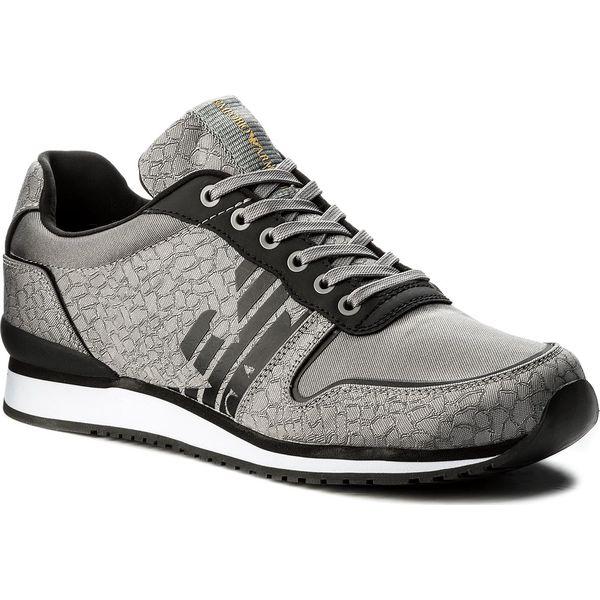 4db06e7d159c4 Sneakersy EMPORIO ARMANI - X4X223 XL201 A086 Grey/Grey/Black - Buty  sportowe casual marki Emporio Armani, z materiału. W wyprzedaży za 629.00  zł.