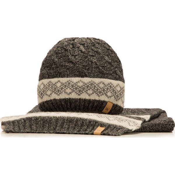 07728c2cfccb3 Komplet czapka + szalik 85-SF-200-1 - Czapki zimowe marki Wittchen ...