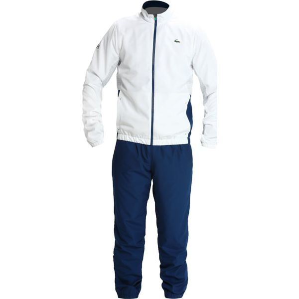 ed8bbba1c Lacoste Sport TRACKSUIT Dres white/inkwell/armour/papeete - Komplety ...