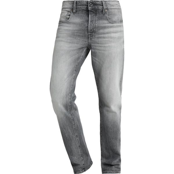 375273da02a3 GStar 3301 STRAIGHT Jeansy Straight Leg lavas grey stretch denim ...