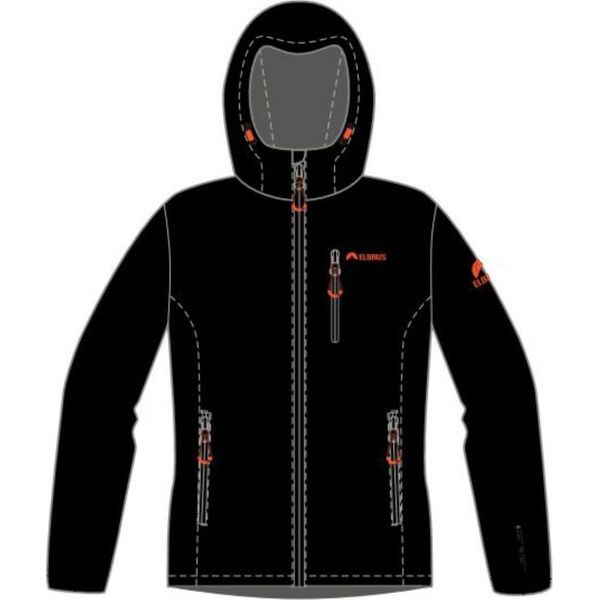 9849d7acbb Elbrus Kurtka męska Softshell Ifar Black r. XXL - Kurtki marki ...