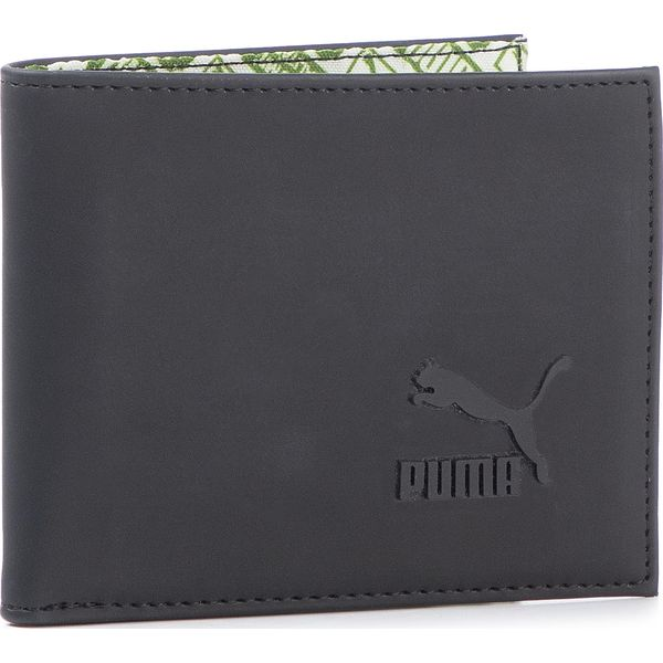 Duży Portfel Męski PUMA Originals Wallet 075827 01 Puma Black