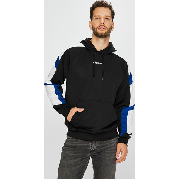 0a57bfc01 adidas Originals - Bluza - Szare bluzy adidas Originals, z bawełny ...