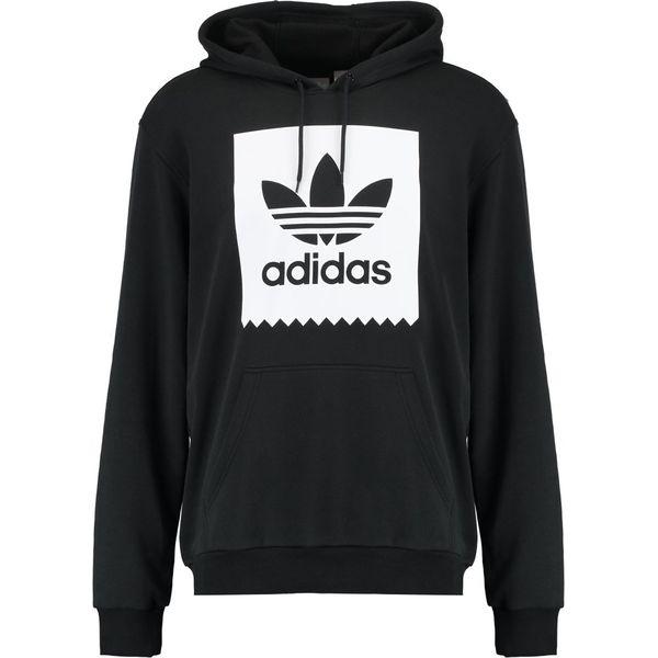 309b5119412b7 adidas Originals SOLID BB Bluza z kapturem black white - Bluzy marki ...