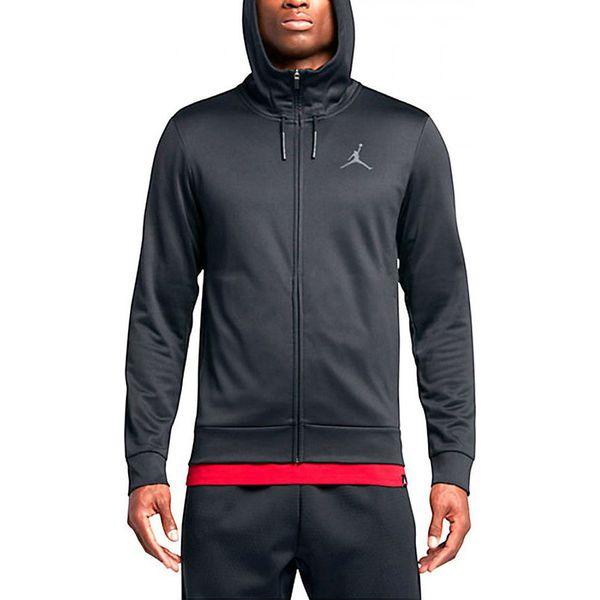 znana marka najlepsza cena największa zniżka Nike Bluza męska Jordan Men`s Therma 23 Protect Training Full Zip Hoodie  czarna r. S (872873 010)