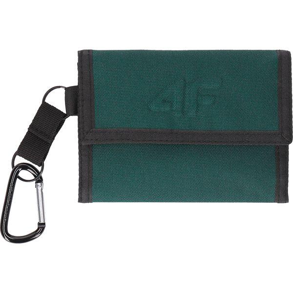 b35b8317e9d4e Portfel PRT204 - ciemna zieleń - Zielone portfele marki 4F. Za 39.99 ...
