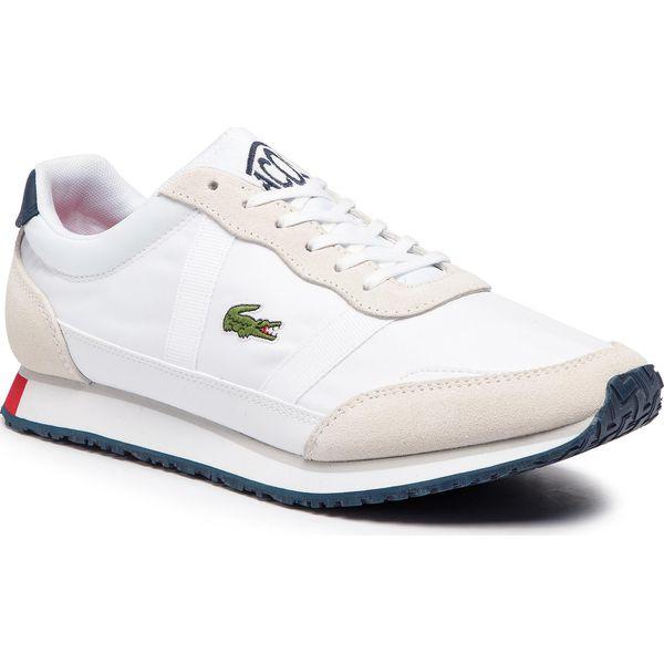Sneakersy LACOSTE Partner 119 1 Sma 7 37SMA0043407 WhtNvyRed
