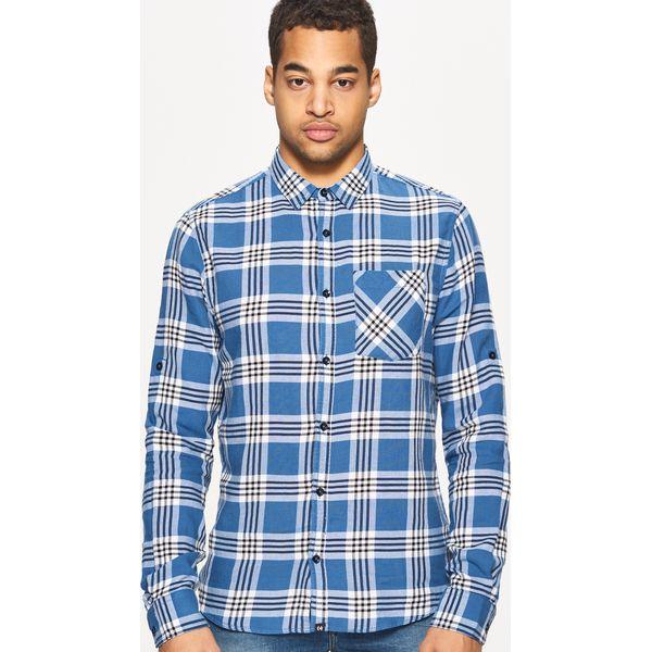 eedb897d2de1eb Koszula w kratę regular - Niebieski - Koszule marki Cropp, m. W ...