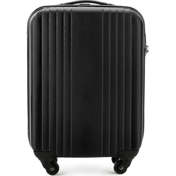 55eebdc2f72ab Walizka kabinowa V25-10-921-10 - Czarne walizki marki Wittchen, z ...